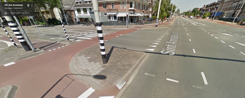 sint-annastraat-nijmegen-netherlands-intersection